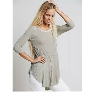 Intimately Free People Weekends Layering Top